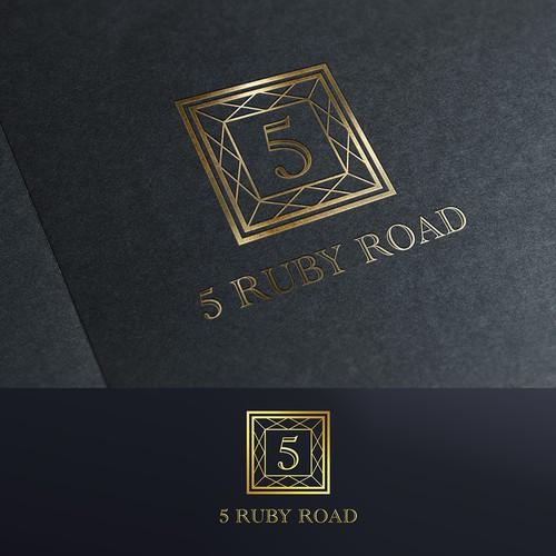 5RubyRoad Logo for Interior Design Company