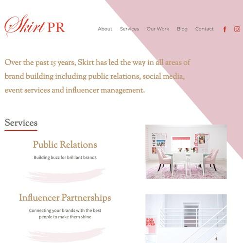 Skirt PR