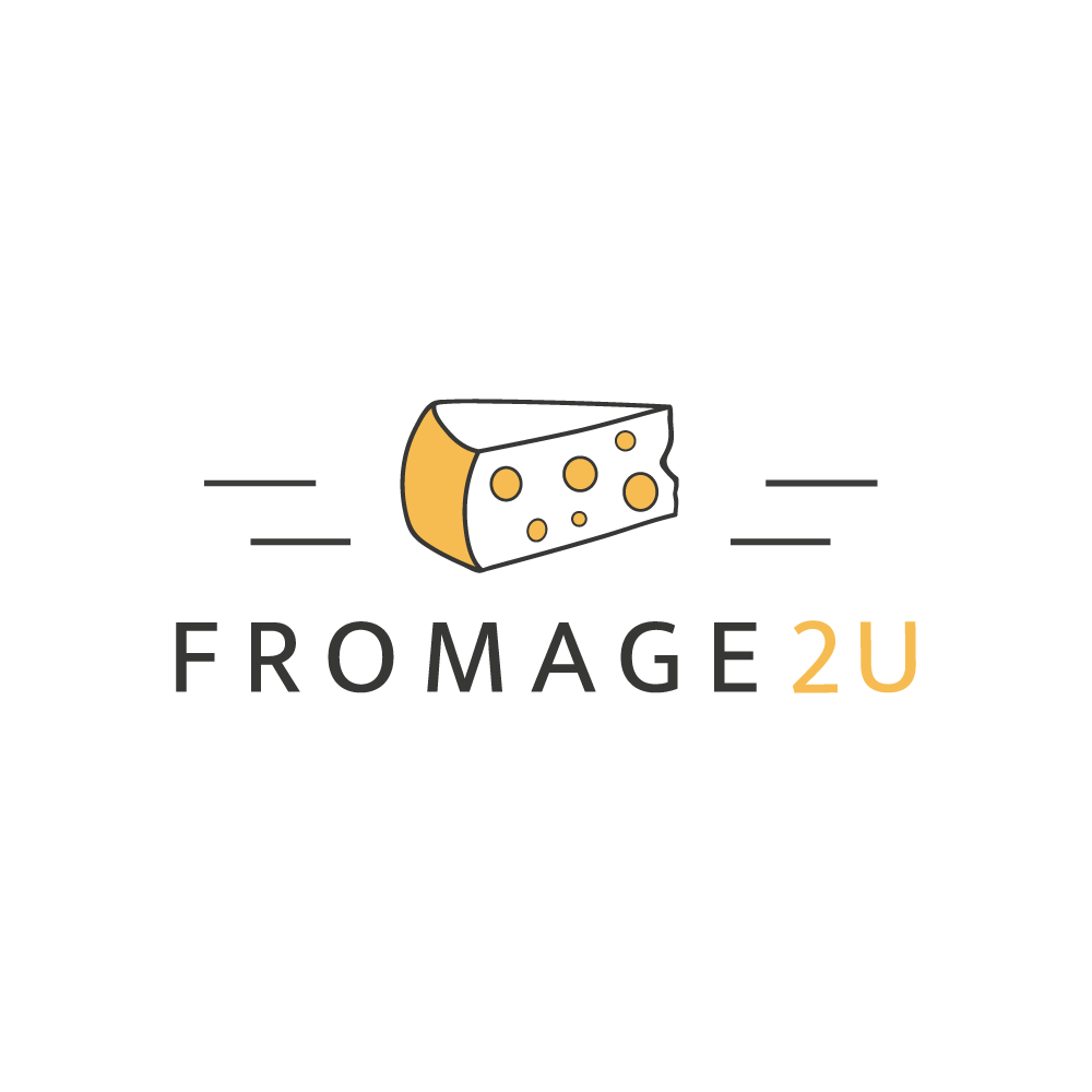 Design a classic logo and brand identity for an online cheese shop