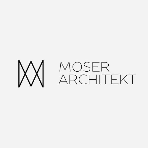 Logo Concept for Moser Architekt