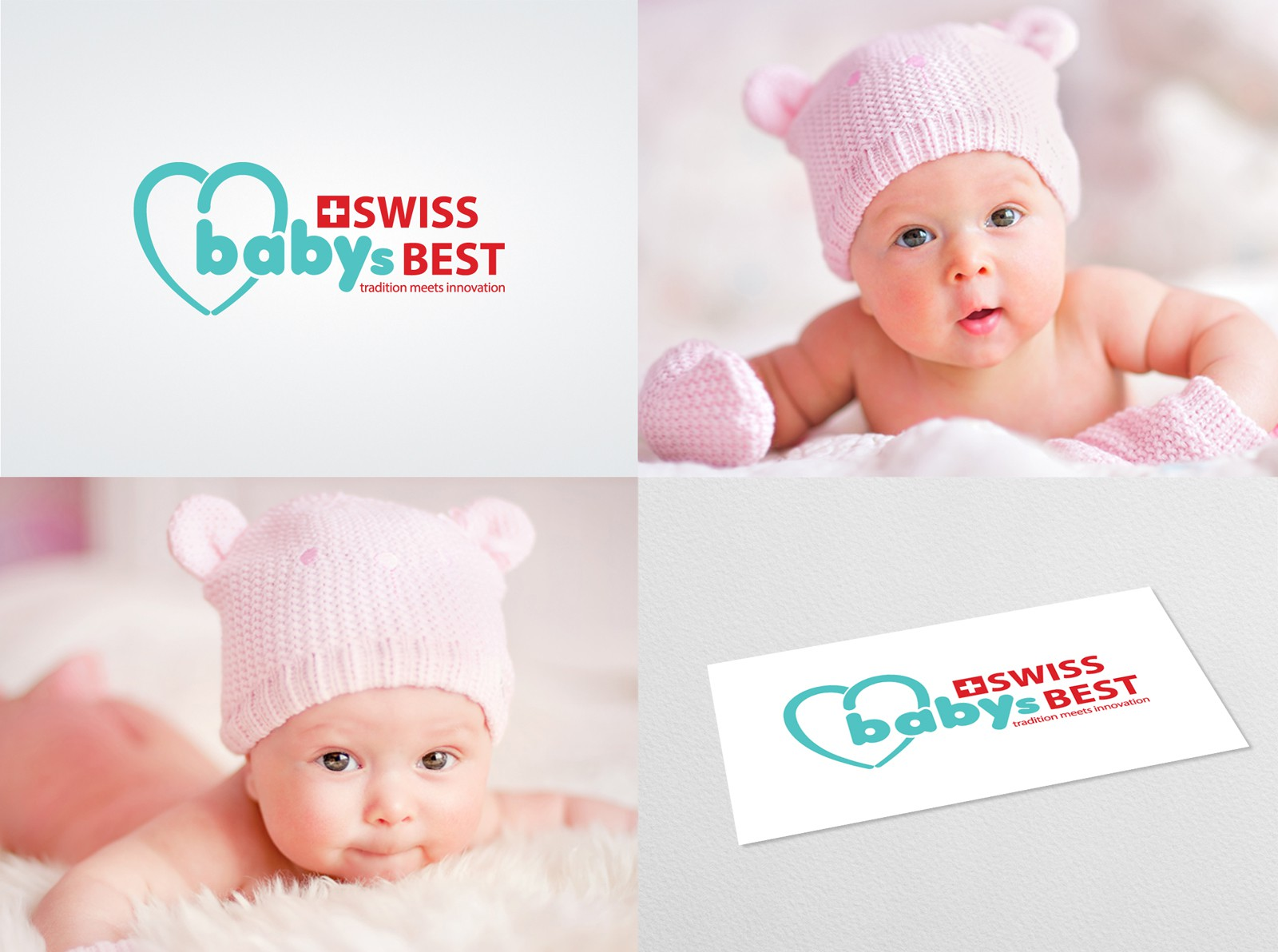 Creat an high quality logo for Swiss Premium Baby Products for Asia