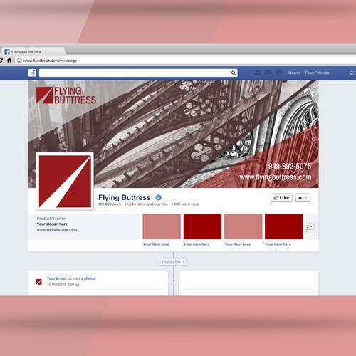 Facebook Cover for Flying Buttress