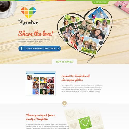My Heartsie Web Design