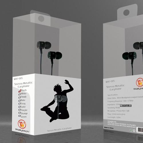 Earphone Package Designs