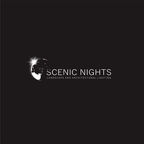 Logo for scenic nights