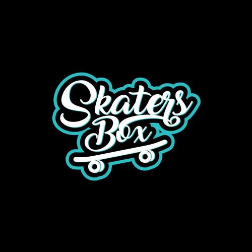 Skaters Box Logo design