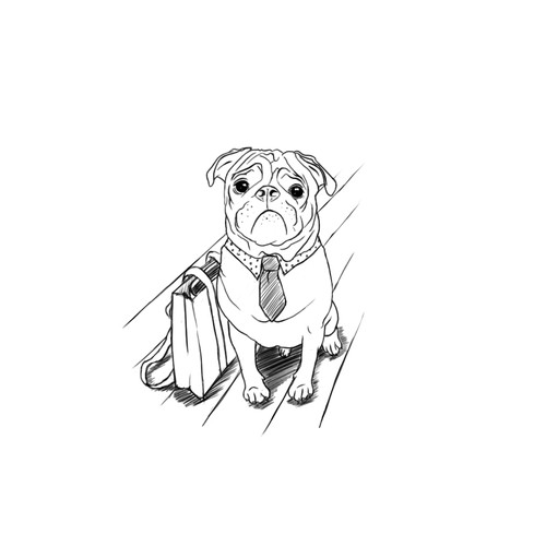 Dog Clothing Illustration