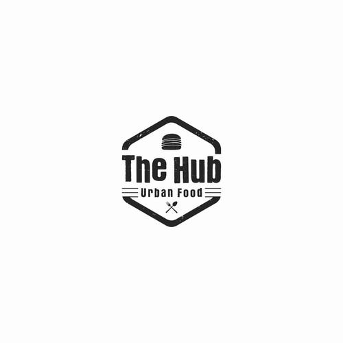 logo design The Hub urban food
