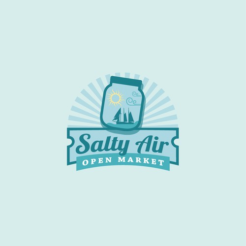 Logo for Salty Air Open Market