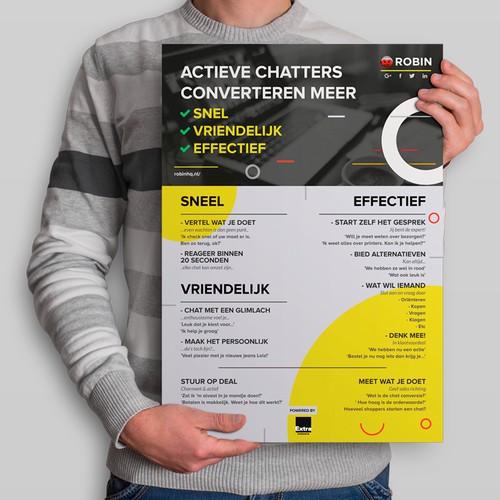 Information poster design