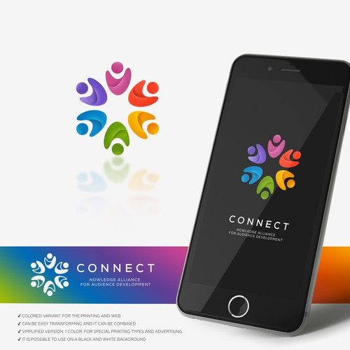 connect logo concept