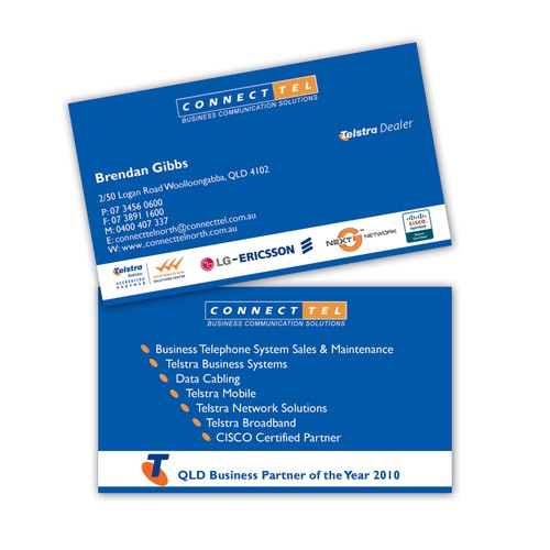 Dynamic Corporate - Business Card Design