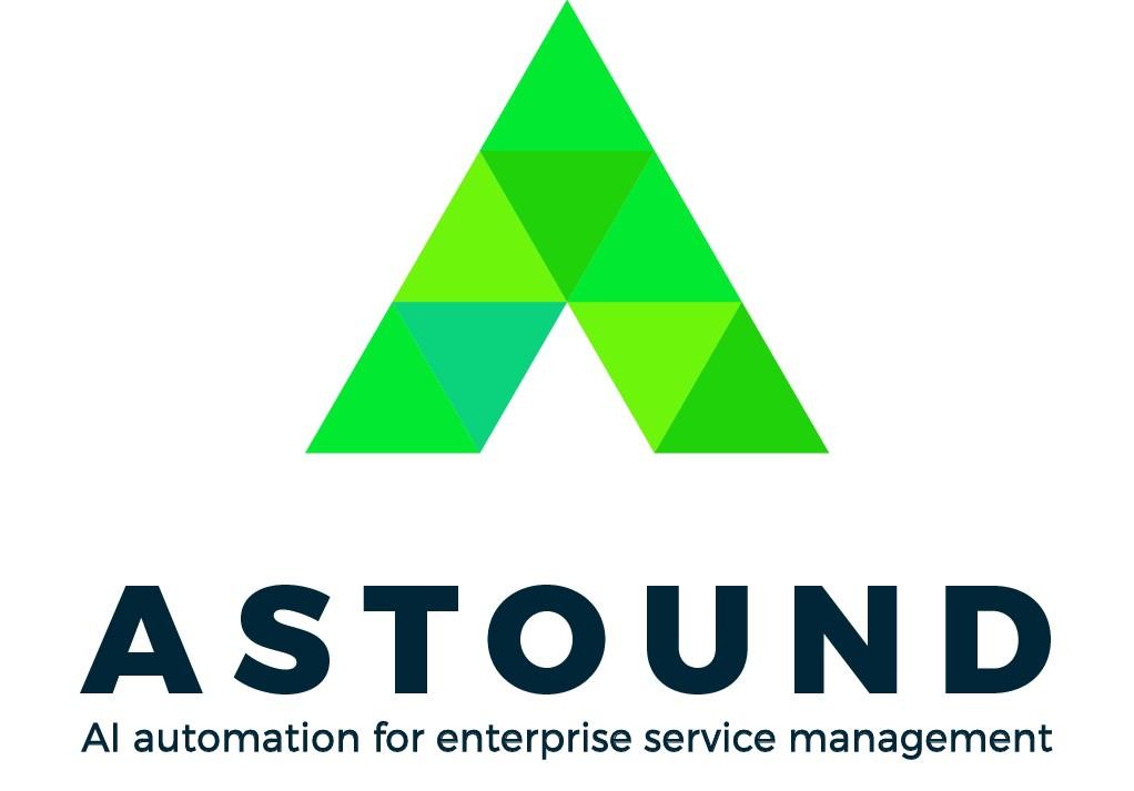 "Top AI company Neva.ai is rebranding as ""Astound"" and needs a company logo"