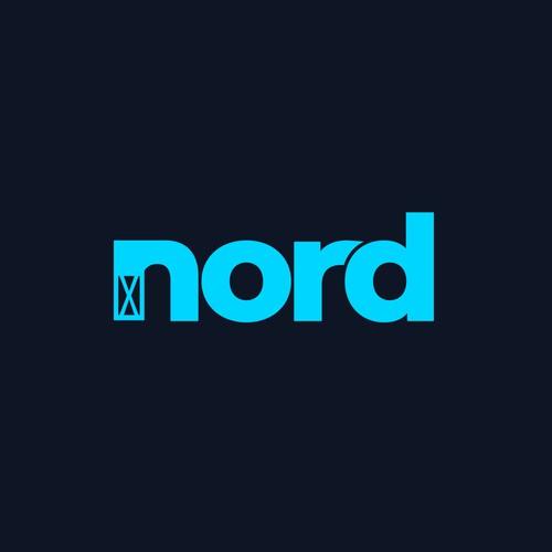 nord logo | Scaffolding logo | Construction logo | Building Logo | Renovation logo
