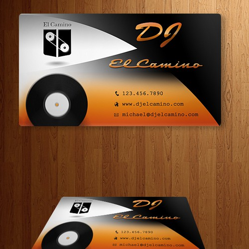 Help DJ El Camino with a New Business Card