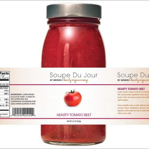 Soupe Du Jour Packaging