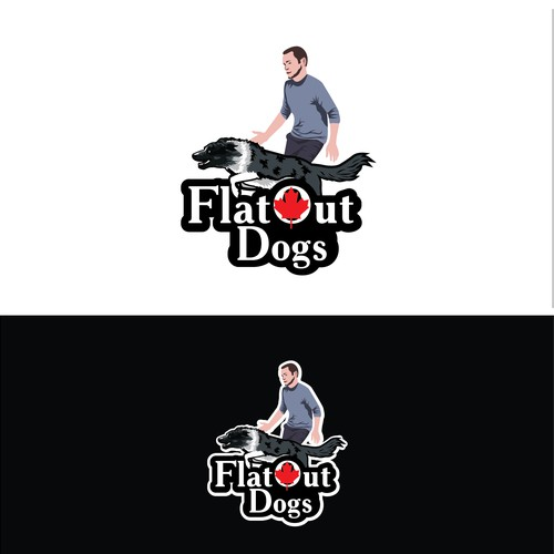 Logo for dog trainer