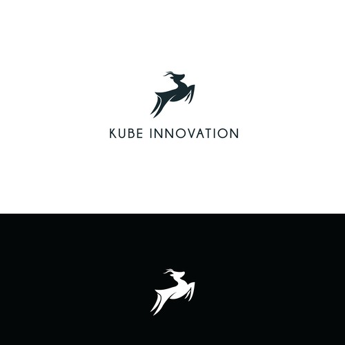 Minimalist logo for tech startup