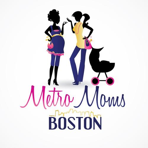 Metro Moms Boston needs a new logo