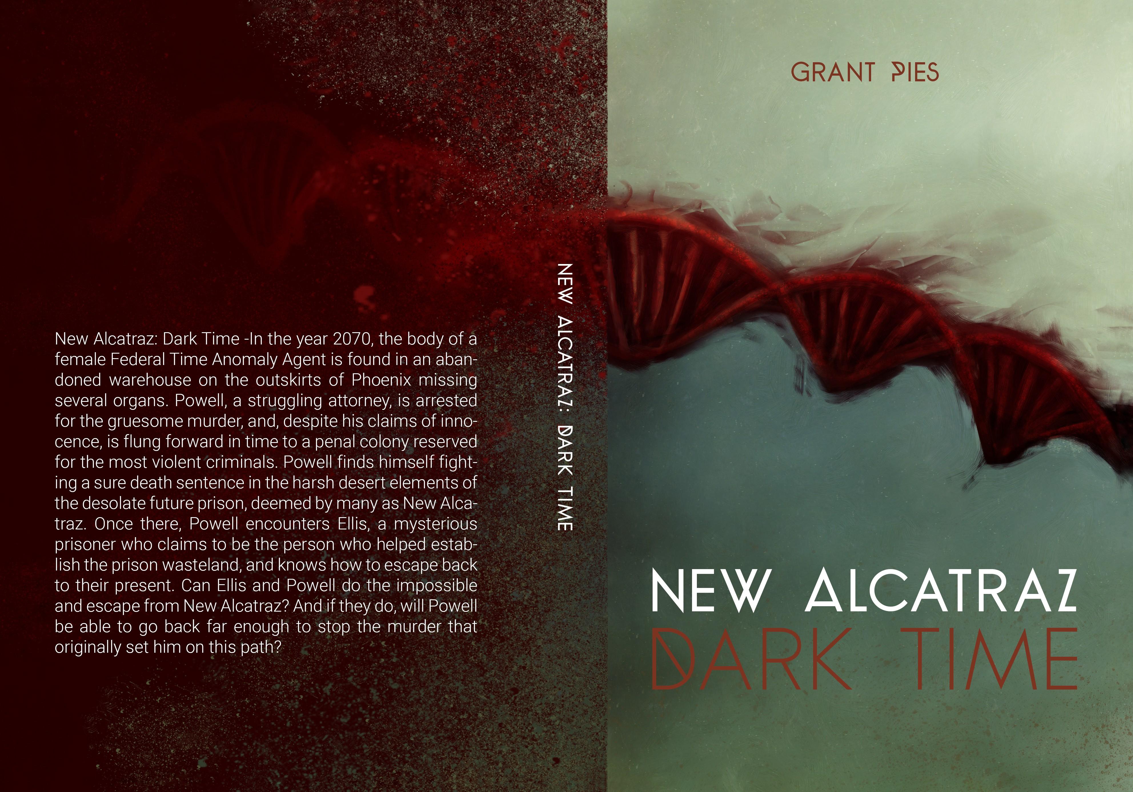 Design Bold Cover for Sci-Fi Murder Mystery