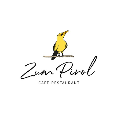 Logo for a restaurant