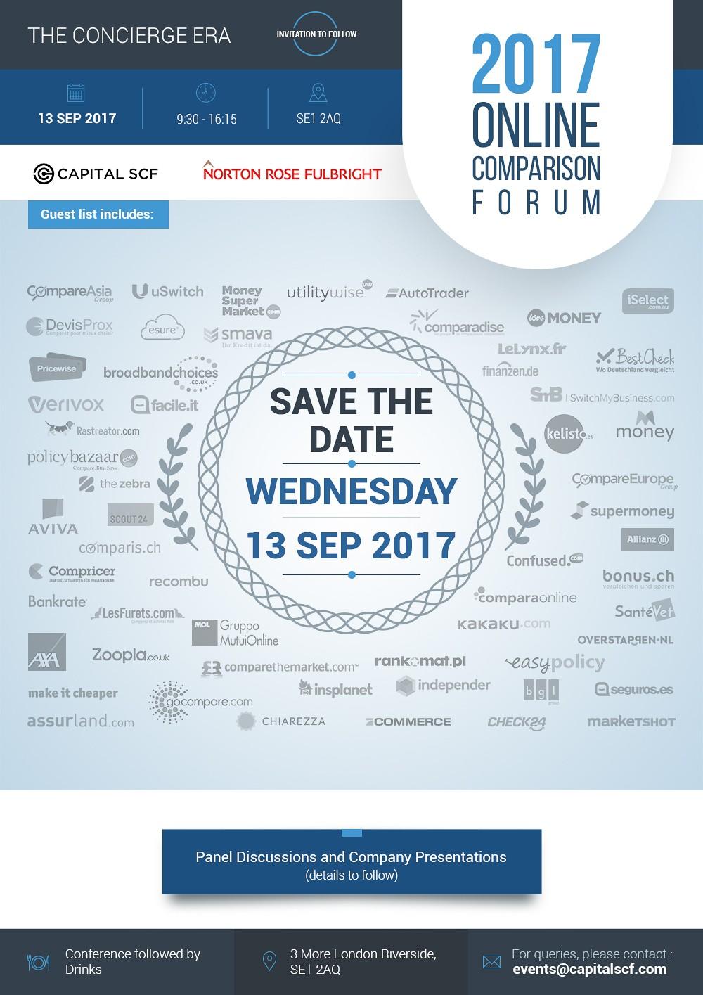 Online Price Comparison Conference