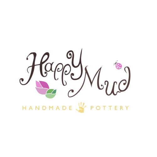 Happy Mud Logo Winning Design