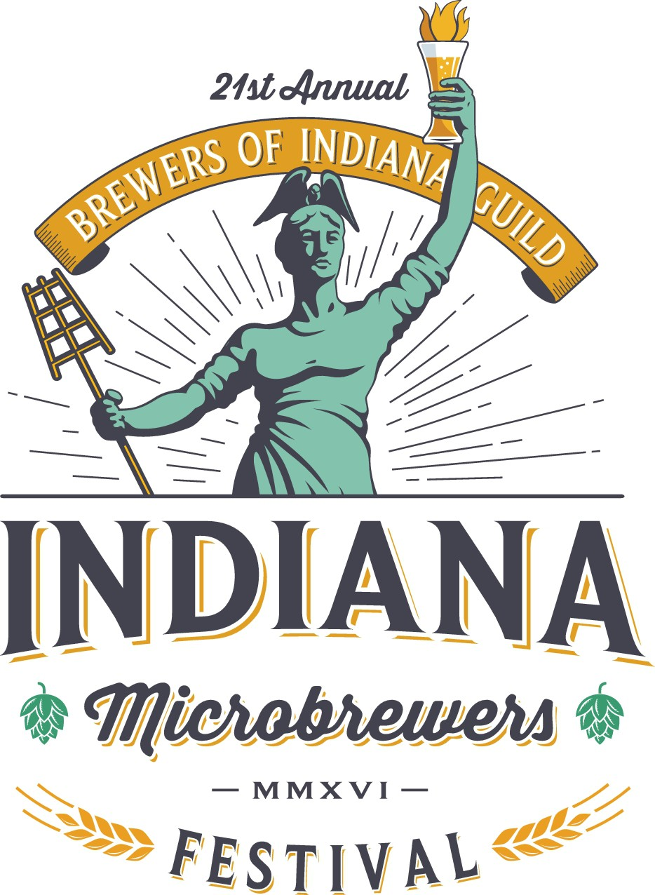 21st Annual Indiana Microbrewers Festival logo