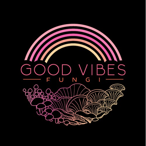Logo for Good Vibes Fungi