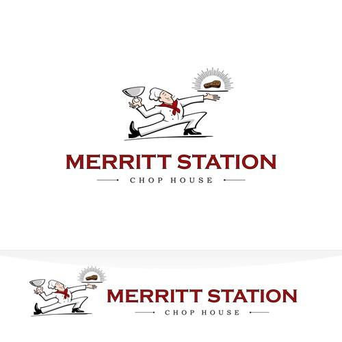 Merritt Station Chop House logo