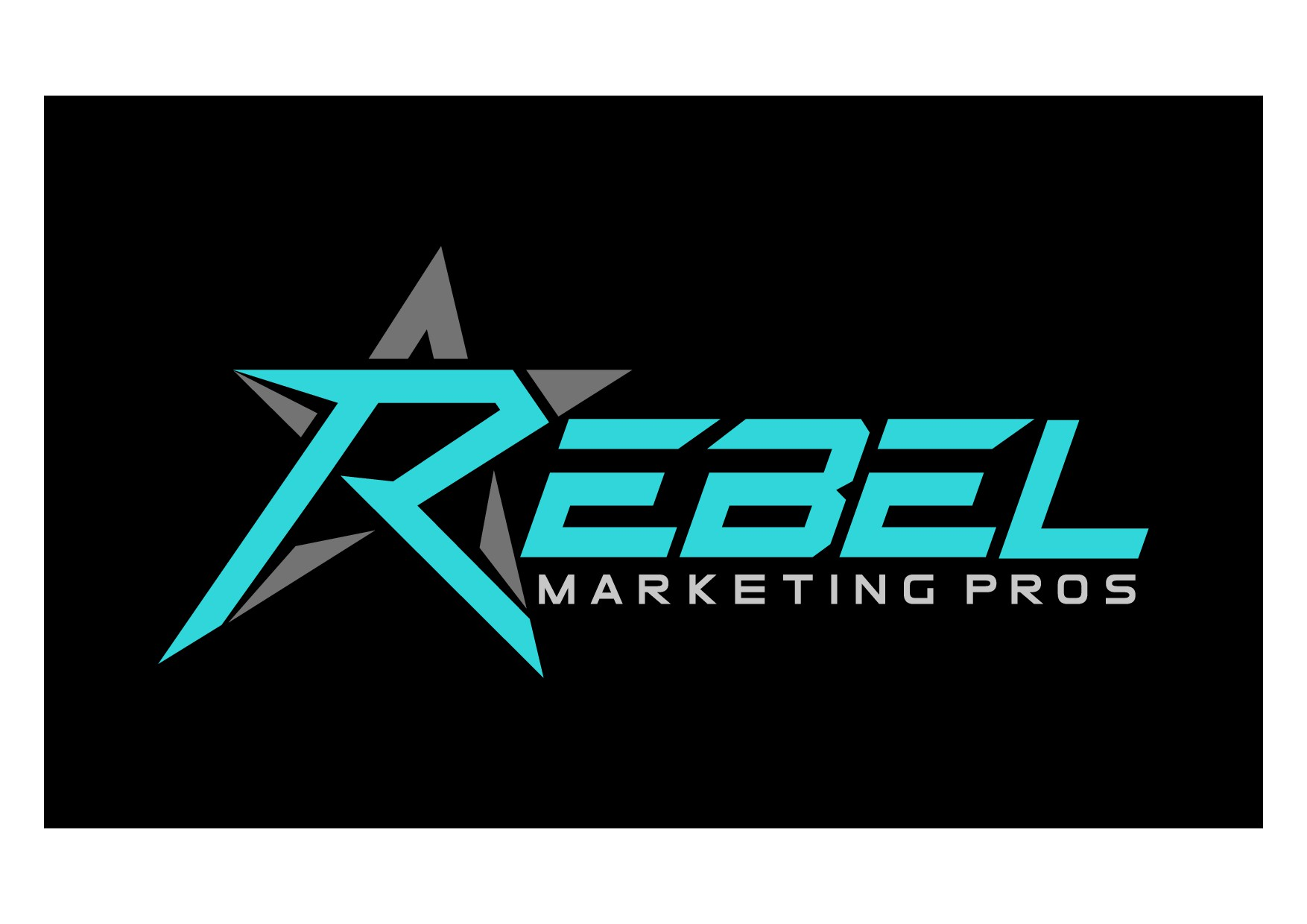 Design a BOLD, Modern logo for us Rebels at Rebel Marketing Pros