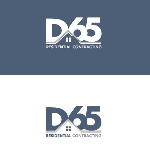 Simple and minimal design for a residential contracting company