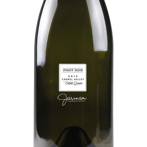 Wine label design for ultra-premium, boutique product