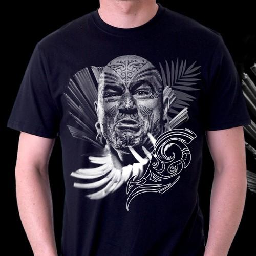 Joe Rogan x Maori Warrior Tee Shirt