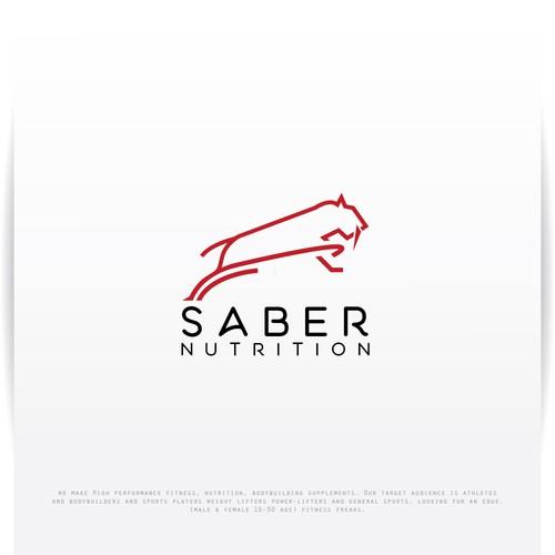 monoline logo for Saber Nutrition
