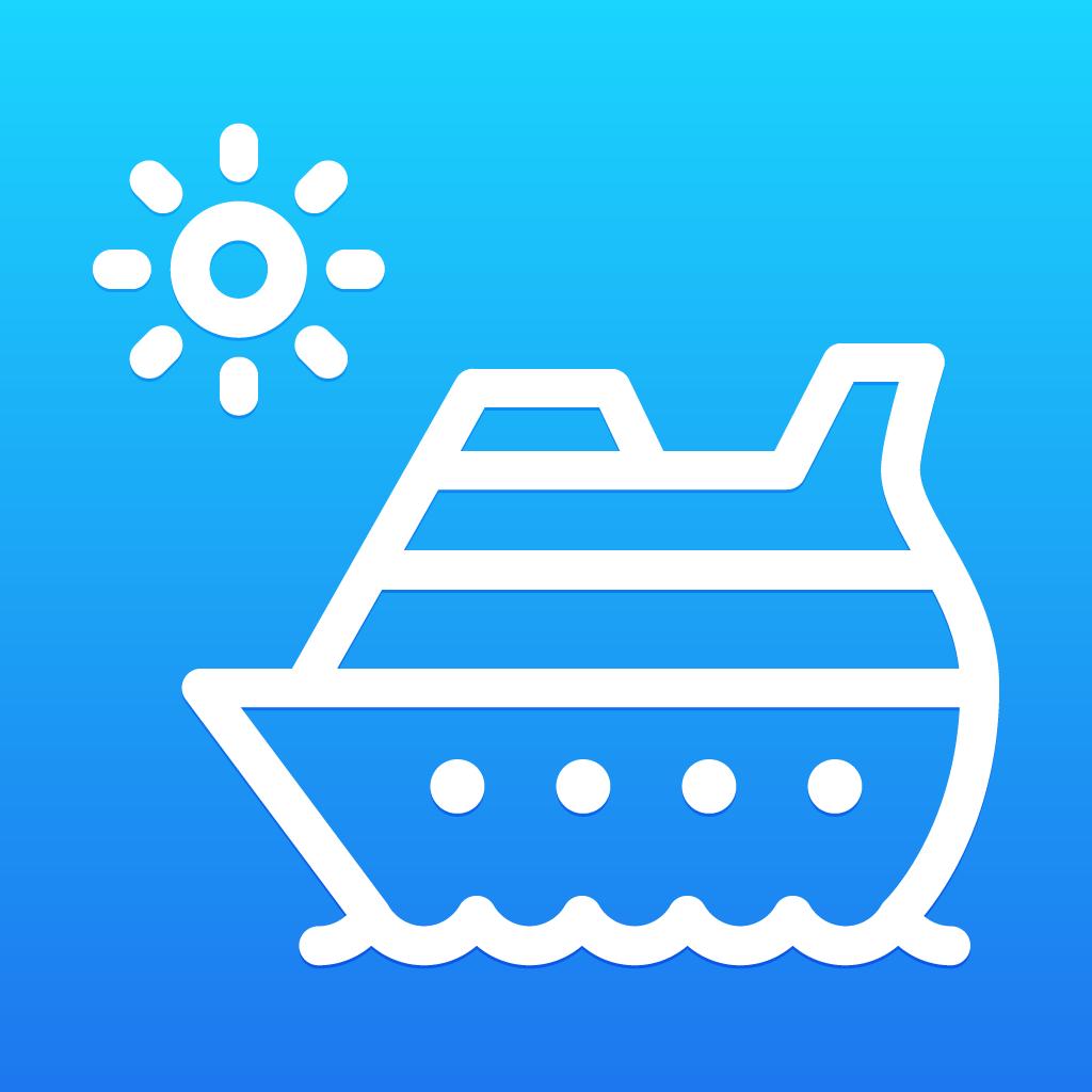Create a beautiful iOS app icon for CruisePicker App