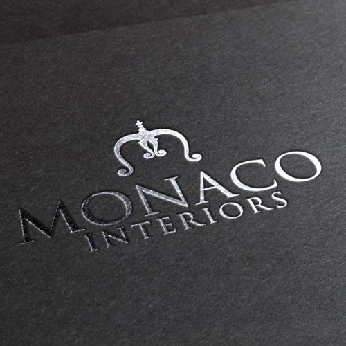 logo concept for Monaco Interiors