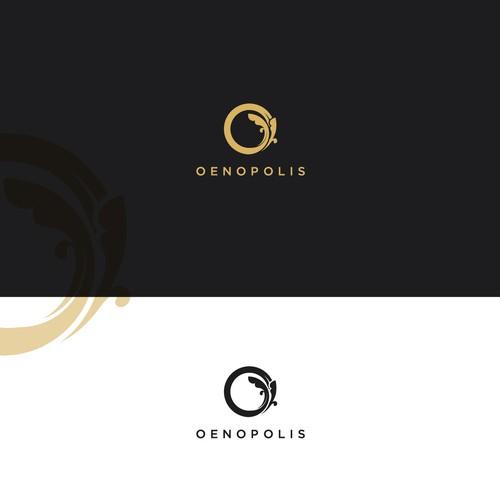 Luxury logo for wine