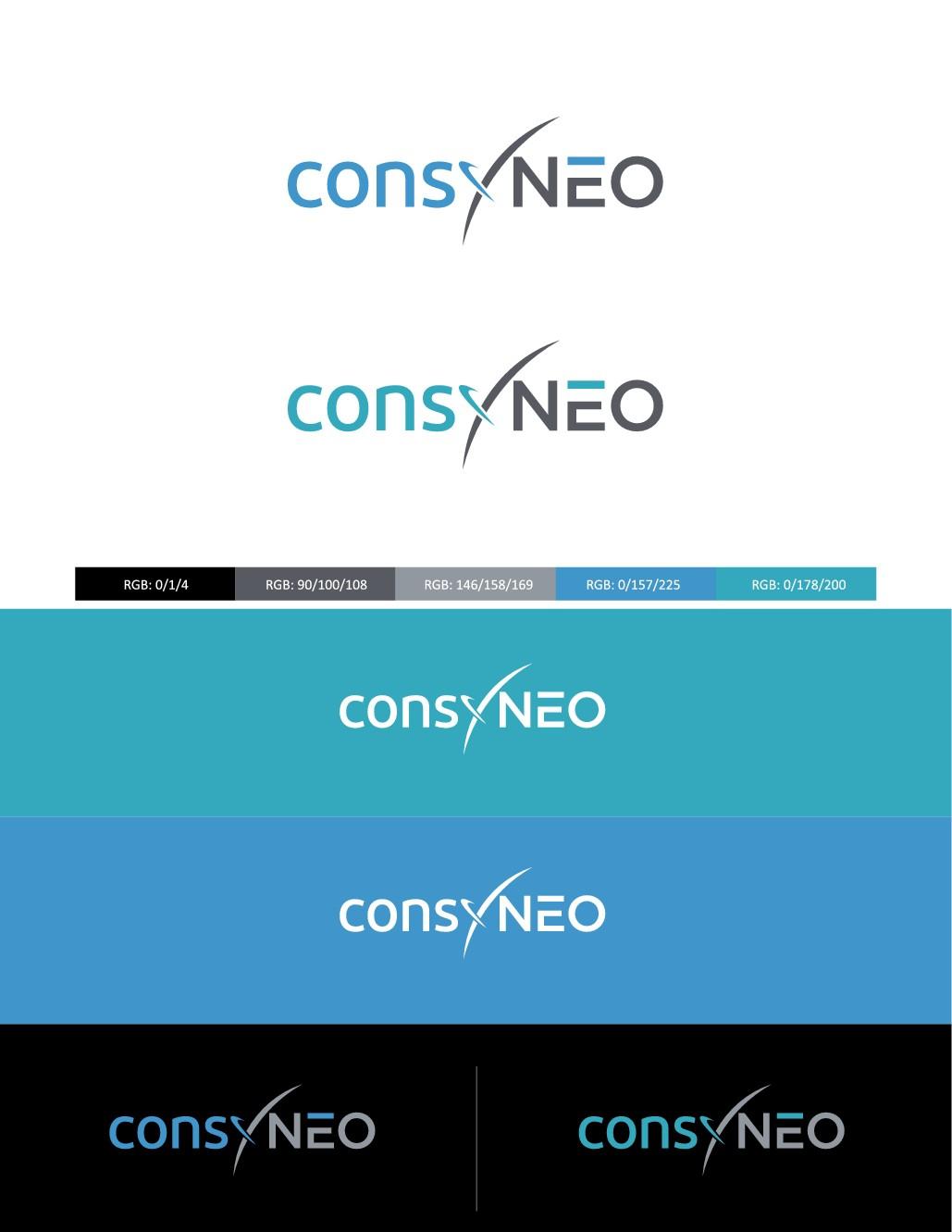 consyNEO braucht ein Logo, das neugierig und Lust auf Beratung macht.