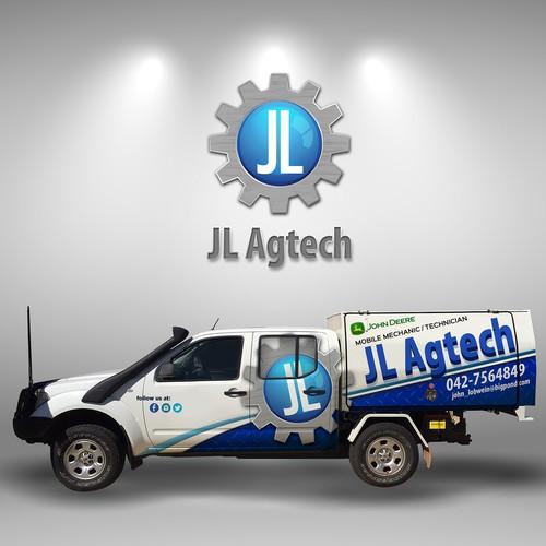 JL Agtech Vechicle Wrap