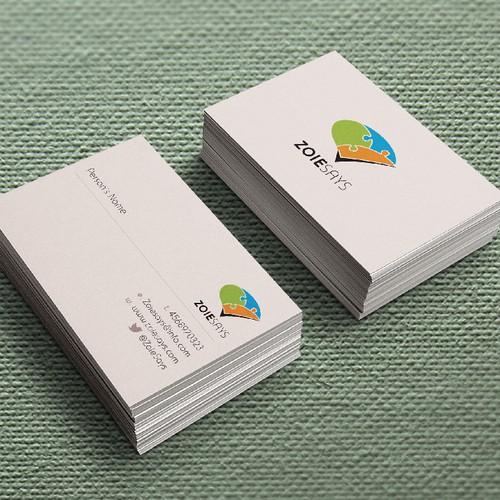 Logo and business card design for exciting startup company!