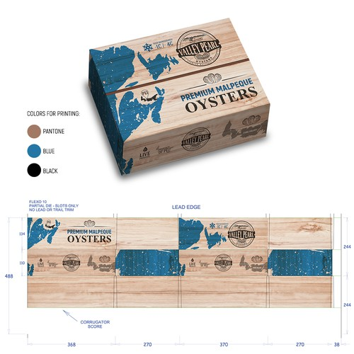 package design, box design, label design