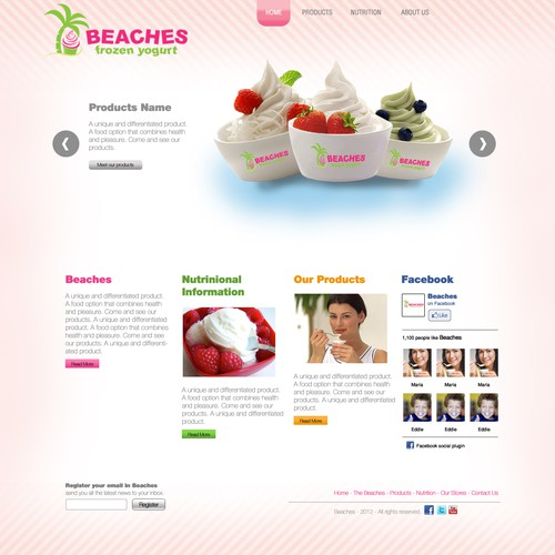 Beaches Frozen Yogurt
