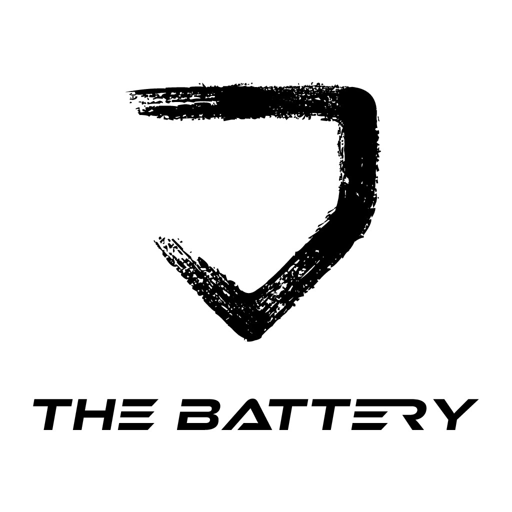 New baseball training facility looking for strong clean logo.  The battery is a reference to the pitcher and catcher in