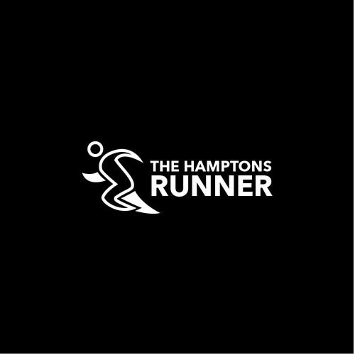 Eye catching logo for The Hampton Runner