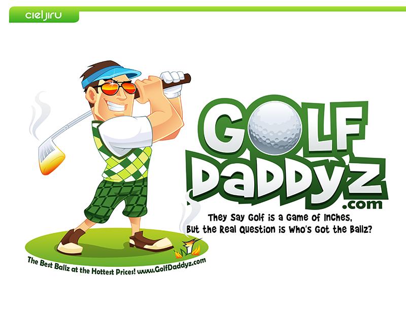Golf Daddy'z needs a new logo