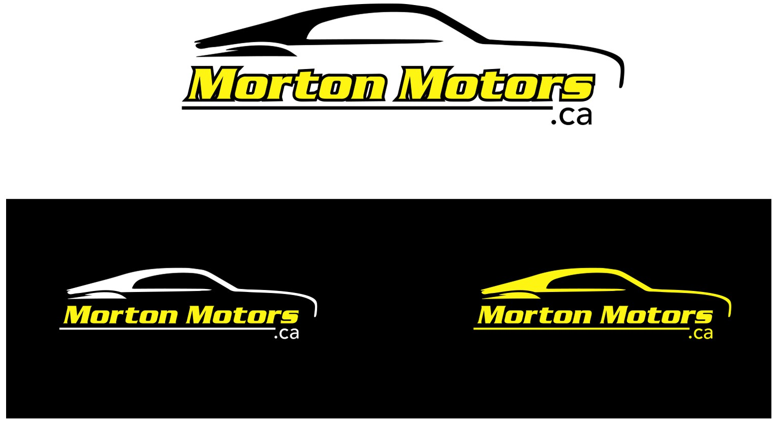This new logo will help shape our entire business at Morton Motors!