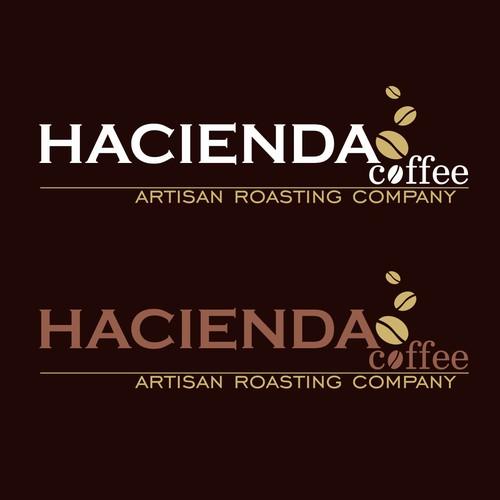 Create a classic Coffee Logo for Hacienda Coffee
