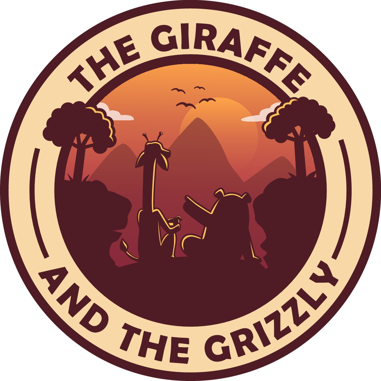 The giraffe and the grizzly