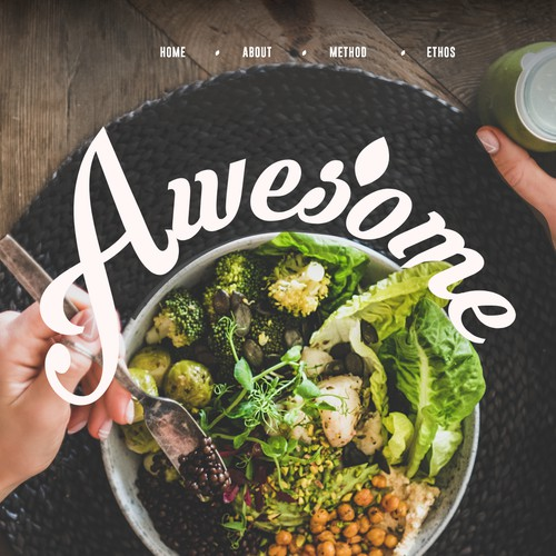 Website design for the very good food company